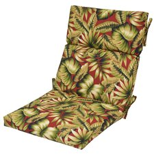 Find Leaves Outdoor Dining Chair Cushion