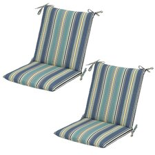 Armona Rainforest Mid-back Outdoor Dining Chair Cushion (Set of 2)