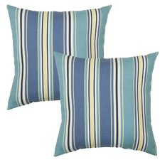 Armona Rainforest Outdoor Throw Pillow (Set of 2)