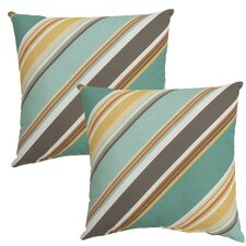 Redmond Outdoor Throw Pillow (Set of 2)