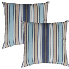 Quebec Outdoor Throw Pillow (Set of 2)