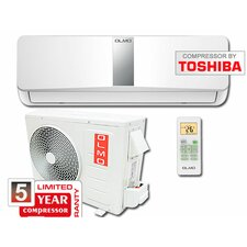 18,000 BTU Ductless Mini Split Air Conditioner with Remote