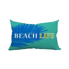 Palm Beach Life Textual Lumbar Pillow