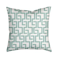 Greek Fret Bold Geometric Throw Pillow