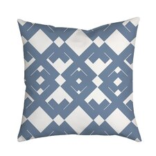Coastal Diamant? Geometric Throw Pillow