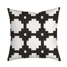 Essential Connection Geometric Throw Pillow