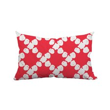 Round the Way Polka Dot Lumbar Polyester Pillow