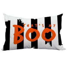 Holiday Treasures That's My Boo Textual Indoor/Outdoor Lumbar Pillow