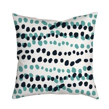 Best #1 Connect the Polka Dots Indoor/Outdoor Throw Pillow