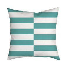 Beachy Stripes Indoor/Outdoor Throw Pillow