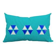Umbrella Trio Graphic Indoor/Outdoor Lumbar Pillow