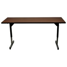 """60"""" W 615 Adjustable Training Table with Casters"""
