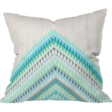 Iveta Abolina Icicle Throw Pillow