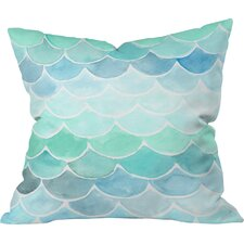 Wonder Forest Mermaid Scales Throw Pillow
