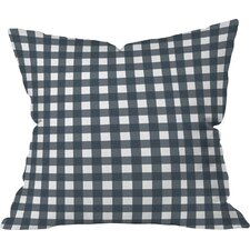 Allyson Johnson Check Throw Pillow