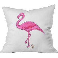 Cheap Madart Inc Pinkest Flamingo Throw Pillow
