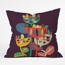 Budi Kwan Wild Flowers Throw Pillow