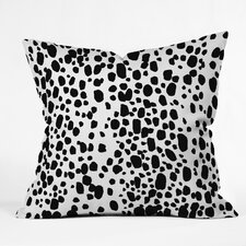 Rebecca Allen Spotted From Across The Room Throw Pillow