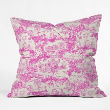 Rachelle Roberts Farm Land Toile in Throw Pillow