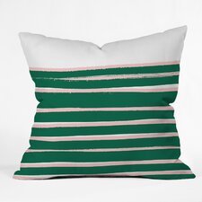 Rebecca Allen My Palm Springs Residence Throw Pillow