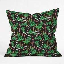Zoe Wodarz Candy Cane Lane Indoor/Outdoor Throw Pillow