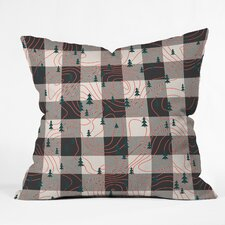 Zoe Wodarz Nature Hike Indoor/Outdoor Throw Pillow