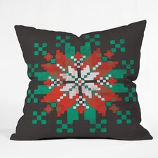 Zoe Wodarz Southwest Snowflake Indoor/Outdoor Throw Pillow