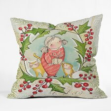Cori Dantini The Night Before Christmas Indoor/Outdoor Throw Pillow