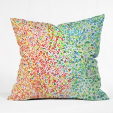 Colors Outdoor by Laura Trevey Throw Pillow