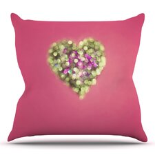 Make Your Love Sparkle by Beth Engel Outdoor Throw Pillow