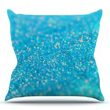 Wonderful Mermaid Sparkles by Beth Engel Outdoor Throw Pillow