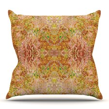 Read Reviews Goldenrod II by Nikposium Outdoor Throw Pillow