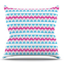 Swimming Pool Tiles by Apple Kaur Designs Outdoor Throw Pillow