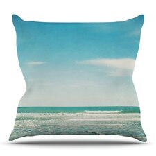 Bargain The Ocean by Susannah Tucker Outdoor Throw Pillow