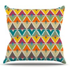 My Diamond by Julia Grifol Outdoor Throw Pillow