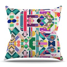 Geometry 2B by Mareike Boehmer Outdoor Throw Pillow