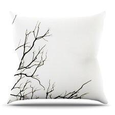 Winter by Skye Zambrana Outdoor Throw Pillow