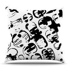 Theodora's Tantrum by Theresa Giolzetti Outdoor Throw Pillow