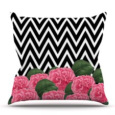 Great price Camellia by Suzanne Carter Outdoor Throw Pillow