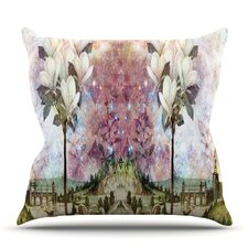 Best Choices The Magnolia Trees by Suzanne Carter Outdoor Throw Pillow