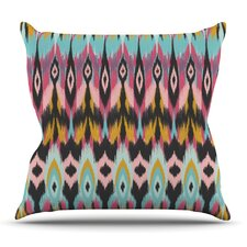 Fresh Boho Tribal by Amanda Lane Outdoor Throw Pillow