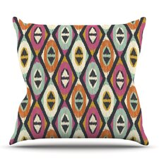 Sequoyah Diamonds by Amanda Lane Outdoor Throw Pillow
