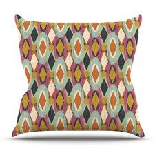 Sequoyah Ovals by Amanda Lane Outdoor Throw Pillow