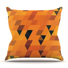 Top Reviews Gold Pattern by Danny Ivan Outdoor Throw Pillow