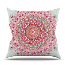Lovely Summer Lace III by Iris Lehnhardt Outdoor Throw Pillow