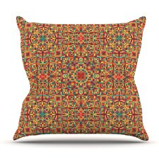 Find Circus by Allison Soupcoff Outdoor Throw Pillow