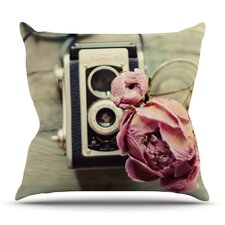 I Have But Two Loves by Cristina Mitchell Outdoor Throw Pillow