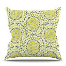 Fresh Sprouting Cells by Miranda Mol Outdoor Throw Pillow