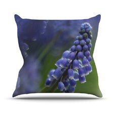 Top Reviews Grape Hyacinth Outdoor Throw Pillow