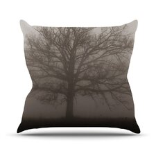 Lonely Tree by Angie Turner Outdoor Throw Pillow